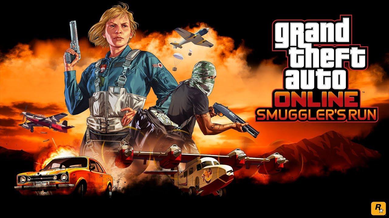 Megjelent az új GTA Online DLC, a Smuggler's Run