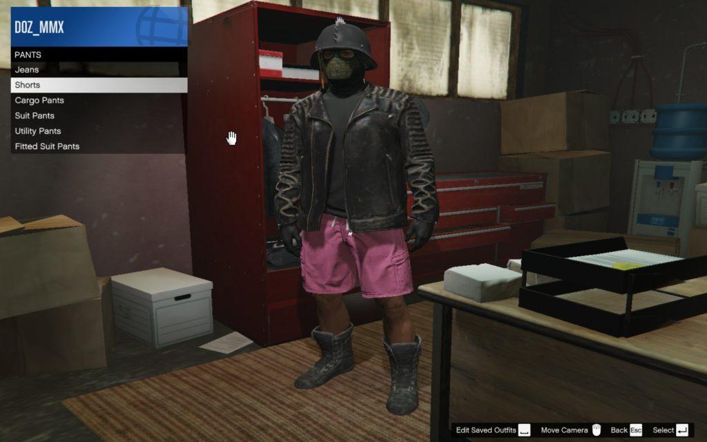 GTA Online clothing