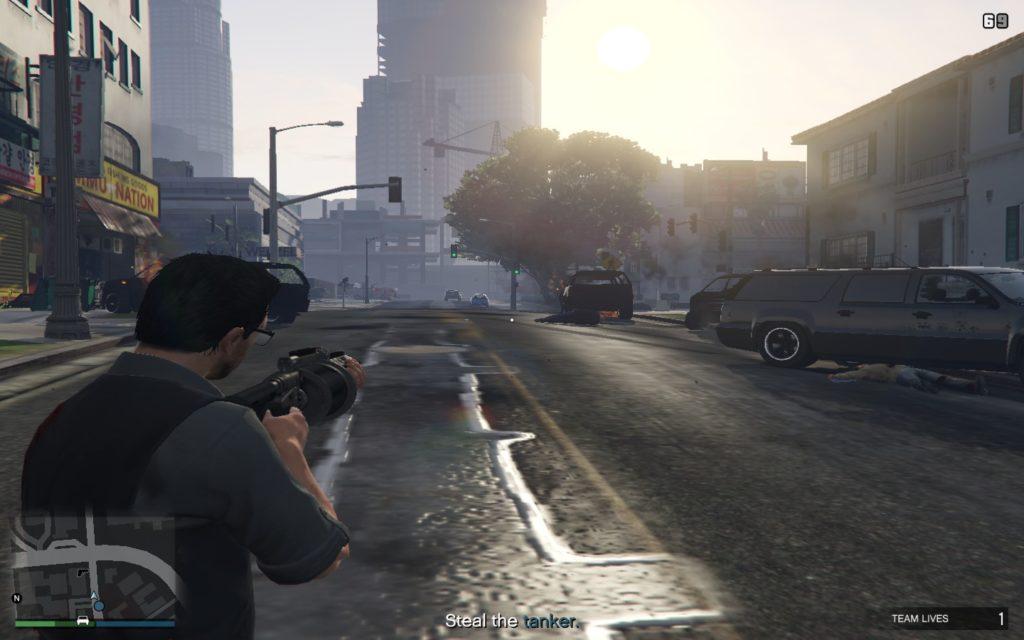 GTA Online Grenade Launcher