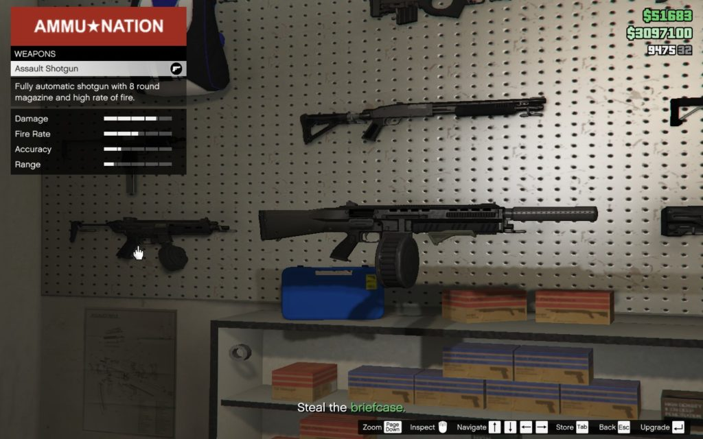 GTA Online Assault Shotgun