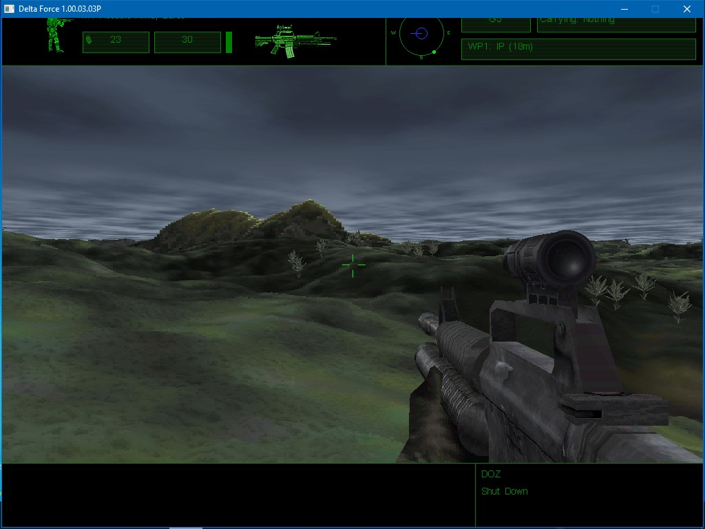 Delta Force screenshot