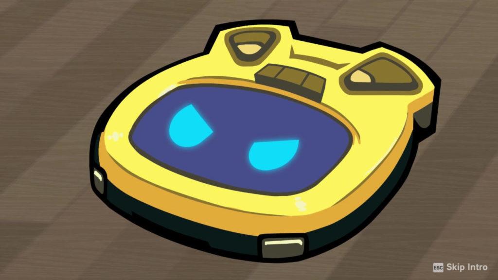 sárga robotporszívó